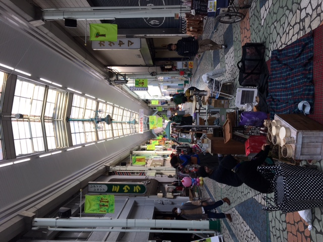 清水銀座商店街のおさんぽ展に参加しています